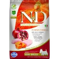 FARMINA N&D Canine PUMPKIN Chicken&Pomegranate Adult Mini 2.5kg