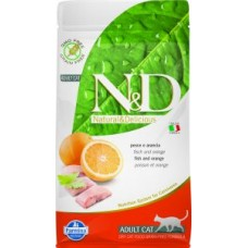 FARMINA N&D Feline PRIME/GrainFree Fish/Orange Adult 1,5 kg;