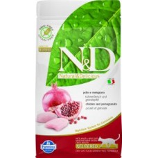 FARMINA N&D Feline PRIME/GrainFree Chicken/Pomegranate Neutered Adult 1,5 kg