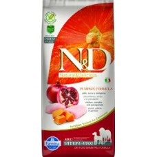 FARMINA N&D Canine PUMPKIN Chicken&Pomegranate Adult Medium/Maxi 2.5kg