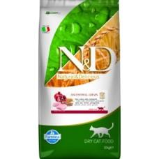 Farmina N&D Feline Low Ancestral Grain Chicken/Pomegranate Adult 10 kg