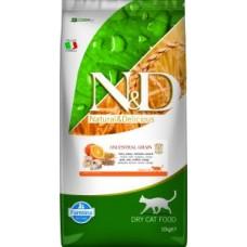 Farmina N&D Feline Low Ancestral Grain Codfish/Orange 10 kg