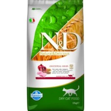 Farmina N&D Feline Low Ancestral Grain Chicken/Pomegranate Neutered Adult 10 kg